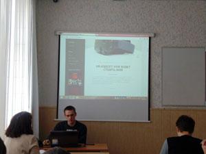 НЕДЕЛЯ СПЕЦИАЛЬНОСТИ 09.02.02. День 2: Открытая защита проектов  на тему «Блог о моём хобби» по УП 02.03 «Технологии создания веб-ресурсов»