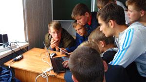 Передача традиций на специальности  «Компьютерные сети»